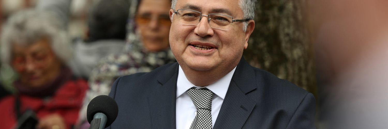 Moskova Büyükelçisi Hüseyin Diriöz